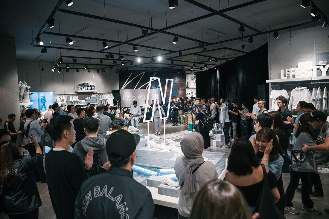 Grey Day @ Nb Pavilion Flagship Store Kl Malaysia