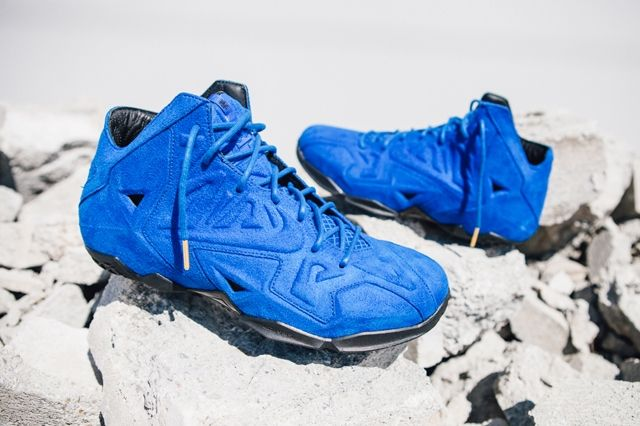 Nike Lebron 11 Ext Blue Suede 7