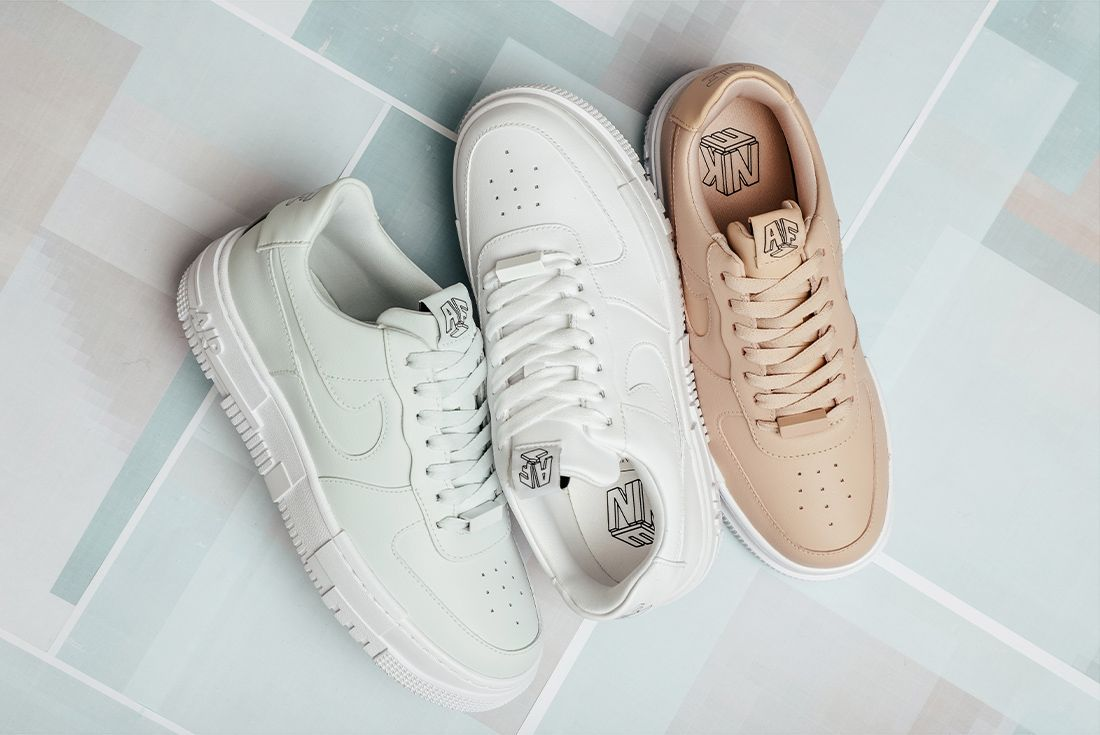 This Nike Air Force 1 Pixel Trio is the Cleanest on the ...