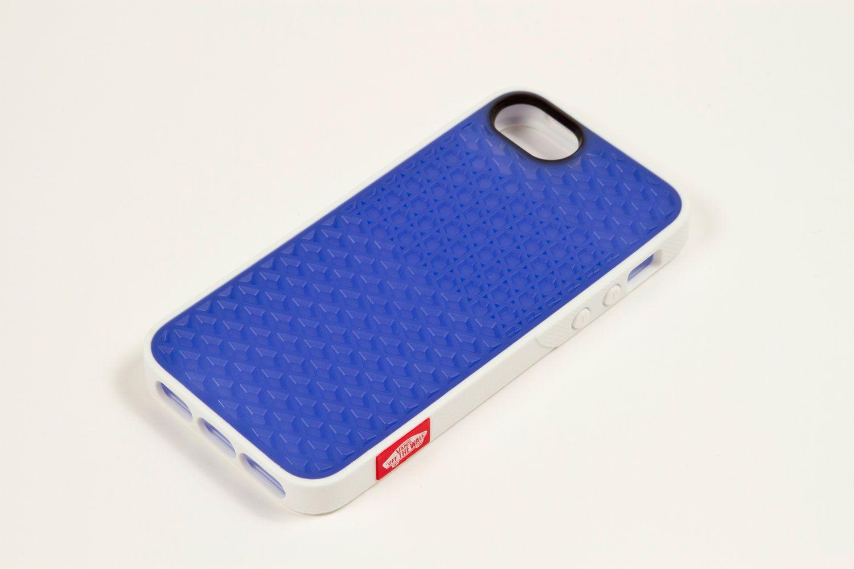 Vans X Belkin I Phone 5 Waffle Sole Case White Blue Tint
