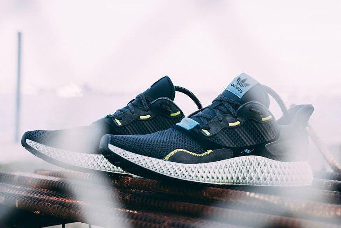 Adidas Zx4000 4D Carbon 2