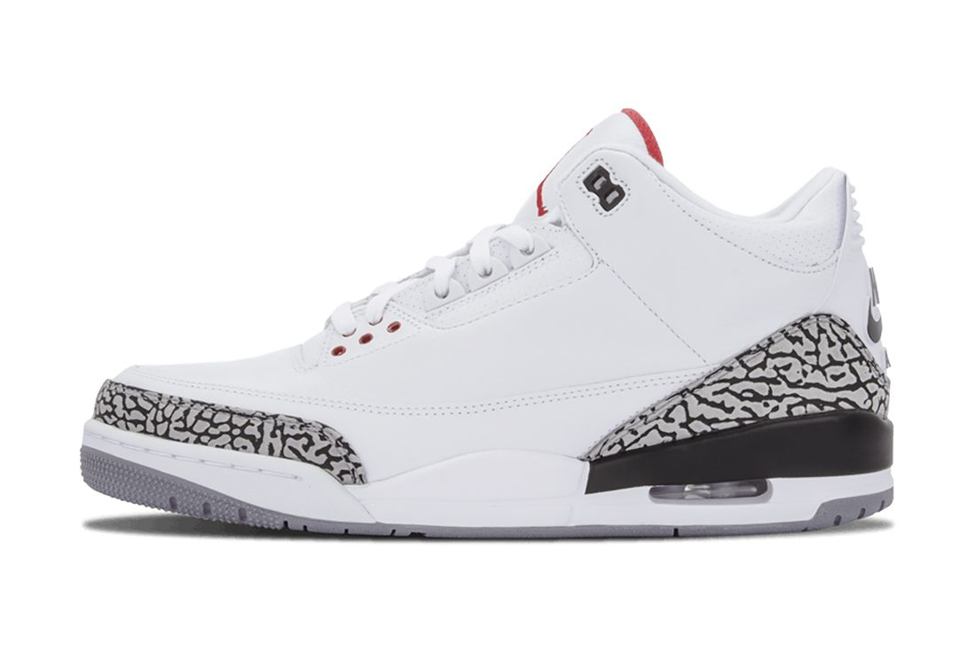 White Cement Air Jordan 3 Best Feature
