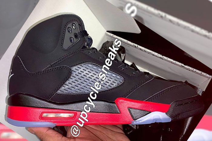 Air Jordan 5 Top 3 Medial