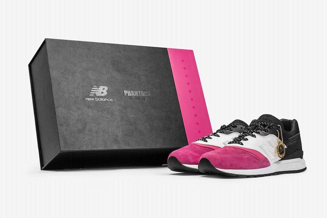 Phantaci New Balance 997 5 Pink White Black 5