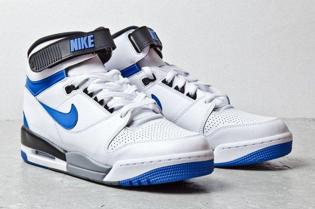 Nike Air Revolution Wht Blue 2 1