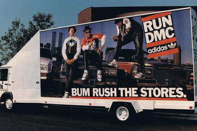 Run Dmc Adidas Truck