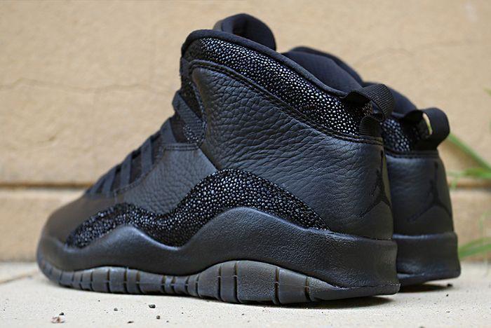 Drake X Air Jordan 10 Ovo Black Stingray10