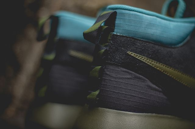 Nike Roshe Run Sneakerboot Dark Loden Mineral Teal