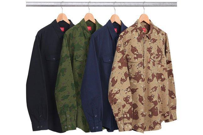 Supreme Army Shirts 1