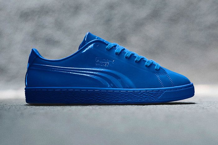 Puma Basket Pro Patent Pack Blue 1