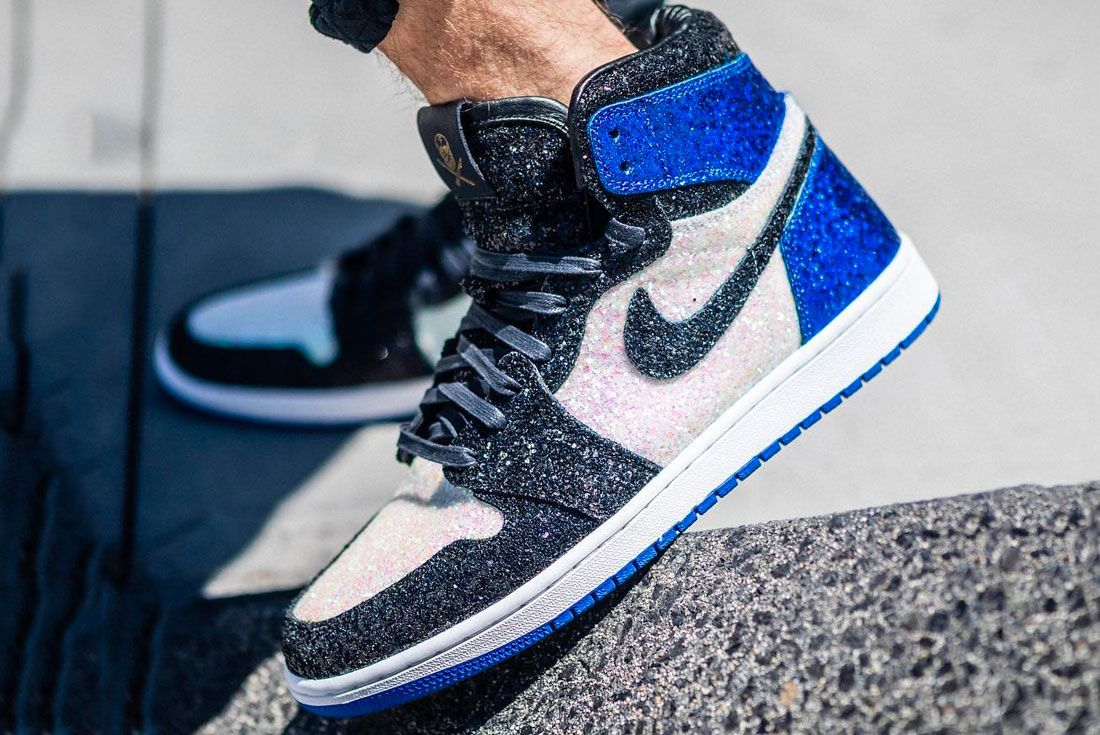 The Shoe Surgeon Air Jordan 1 Paris Left