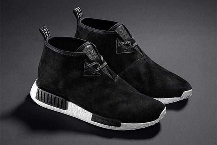 Adidas Nmd Chukka Black Suede3