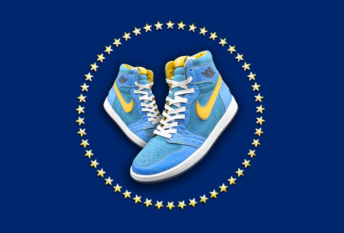 Ceeze x Sneaker Politics Air Jordan 1 'Countdown'