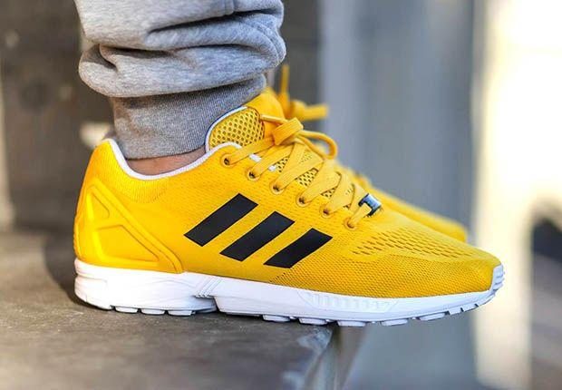 Adidas Zx Flux Bold Gold 2