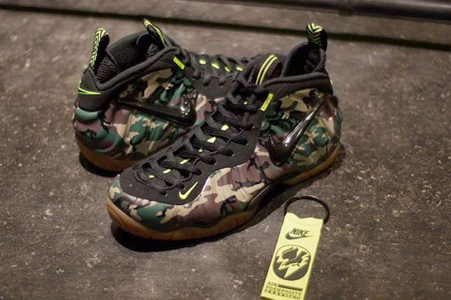 Nike Air Foamposite Pro Green Camo 5 1