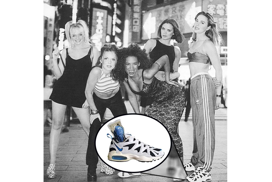 Spice Girls Sporty Spicenike Air Max Tailwind 96