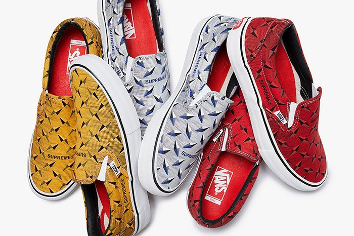 Supreme Vans Slip On Diamond Plate Release Date Collection