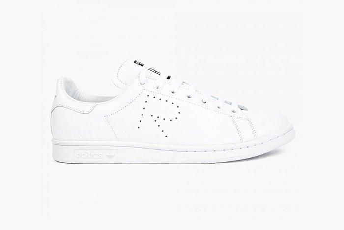 Raf Simons X Adidas Stan Smith White Black 2