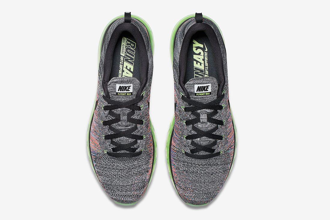 Nike Flyknit Air Max Multicolour9