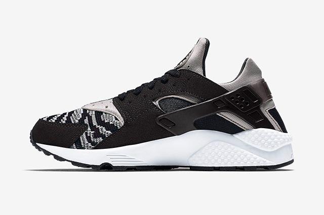 Nike Air Huarache Pa Blackwhite 2