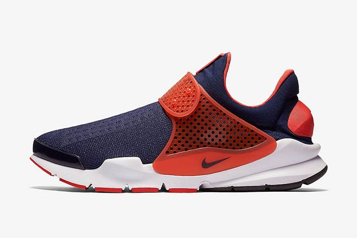 Nike Sock Dart Navy Orange 5