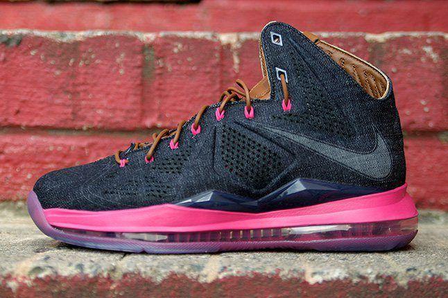 Nike Lebron X Ext Qs Denim 1 1