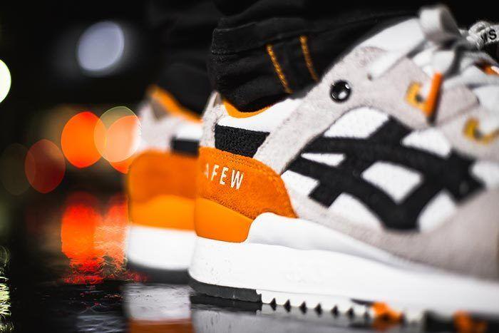 Afew X Beams X Asicstiger Orange Koi On Feet 05