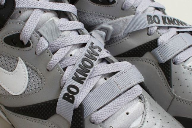 Nike Air Trainer Max 91 Qs Nfl Wolf Greywhite Lace Detail 1