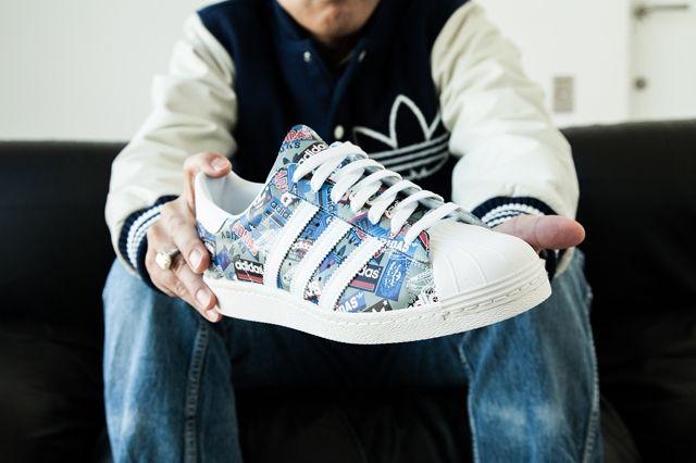Adidas Originals Superstar 80S By Nigo 2