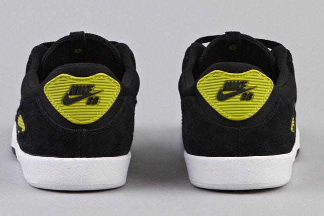 Nike Sb Koston Heritage Black Anthracite Atomic Green Heels 1