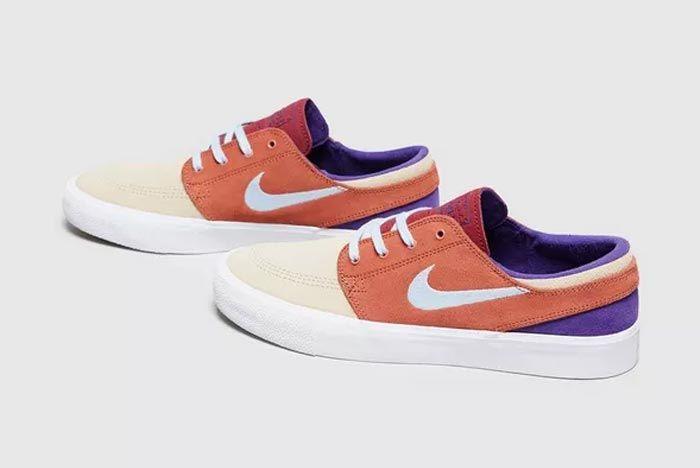 Nike Sb Zoom Stefan Janoski Orange Pair