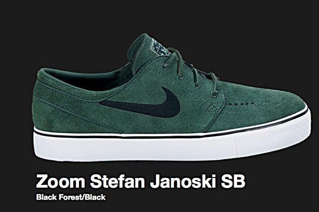 Nike Black Forest Zoom Stefan Janoski Sb 2010 2