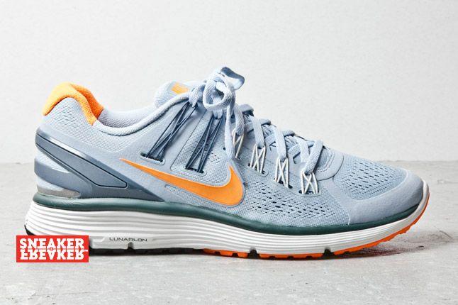 Nike Lunarclipseplus 3 Light Armory Total Orange 1 1