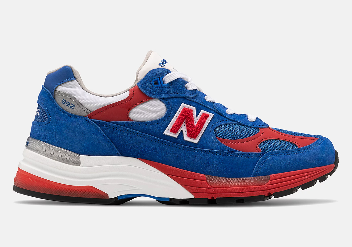 New Balance 992 Blue Red M992CC