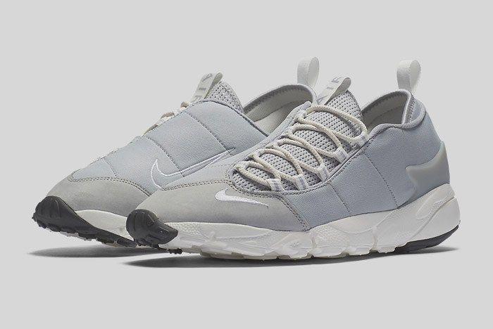 Nike Air Footscape Nm Wolf Grey Black Summit White 5