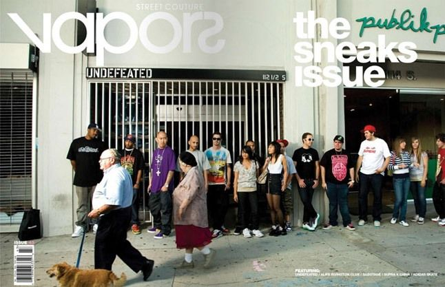 Vapors Sneaks Issue 1