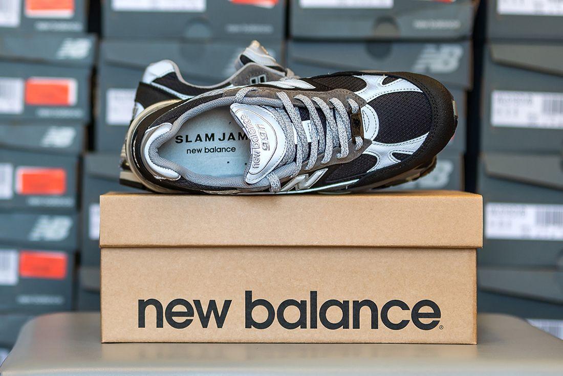 Slam Jam x New Balance 991 official pics