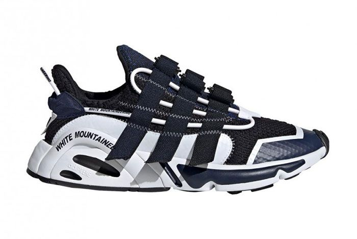 Alike Adidas White Mountaineering Navy White Lateral Side Shot