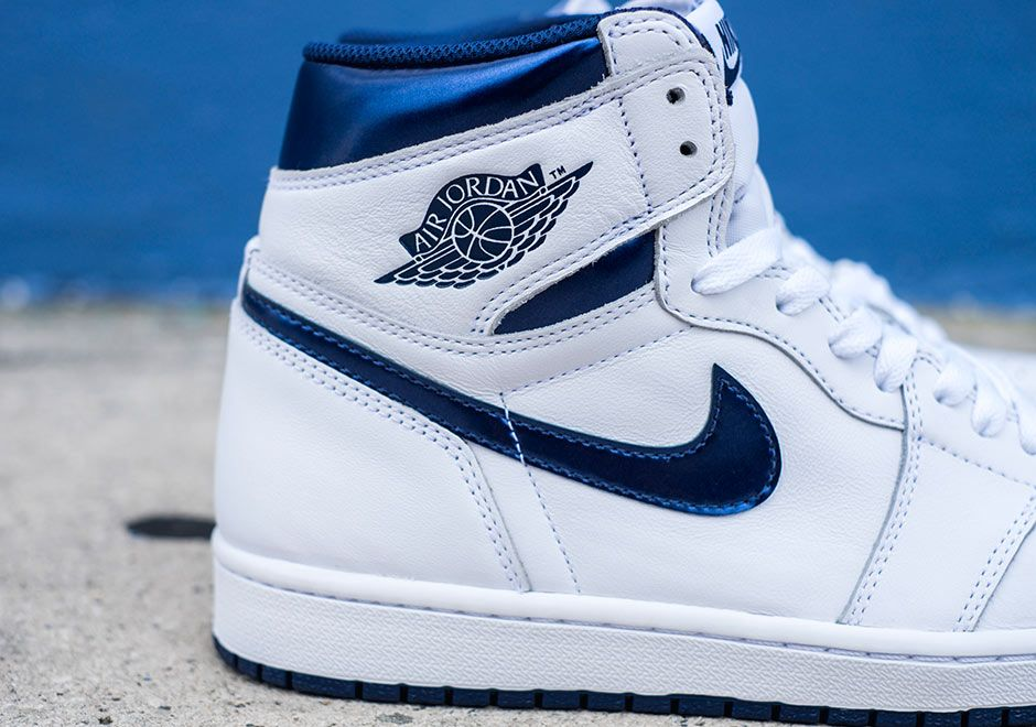 Air Jordan 1 High Og White Navy Release Details 6