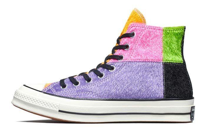 Converse Chuck Taylor Furry Multicolour 2
