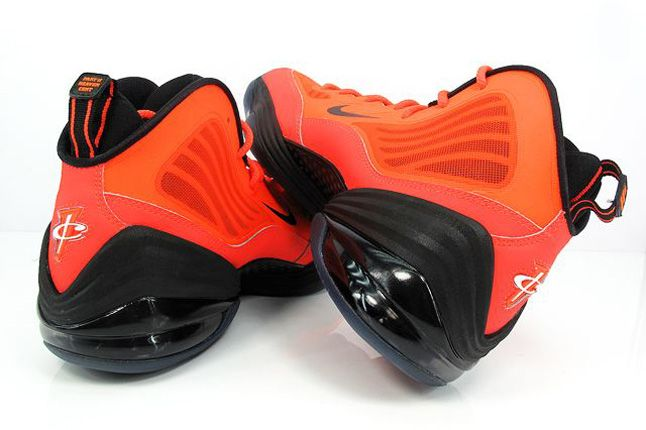 Nike Air Penny V Crimson Black Air Bubbles 1