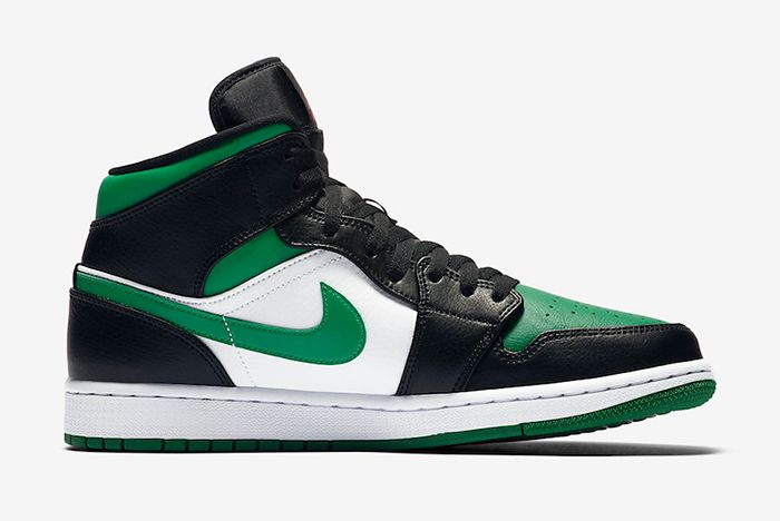 Air Jordan 1 Pine Green Right
