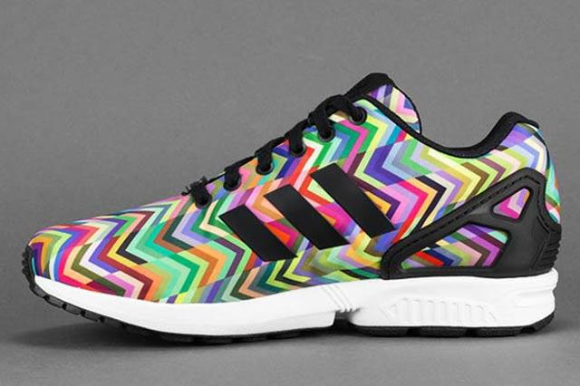 Adidas Zx Flux Multicolor Chevron 2
