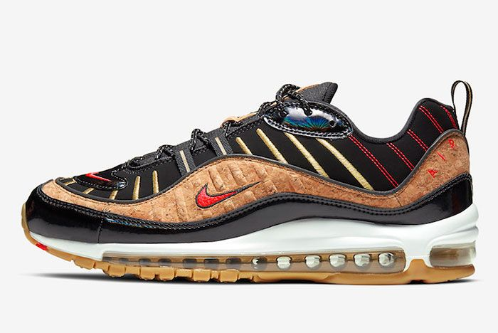 Nike Air Max 98 Cork New Years Ct1173 001 Lateral