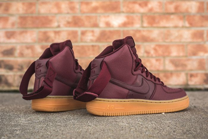 Nike Air Force 1 High Night Maroon Womens 8
