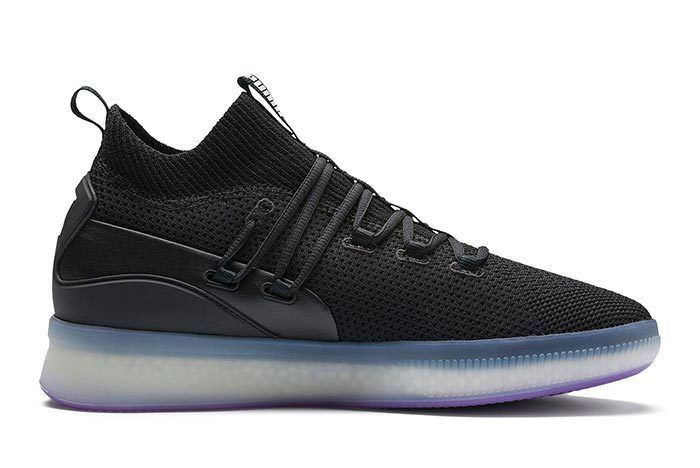 Puma Clyde Court Purple Glow 3