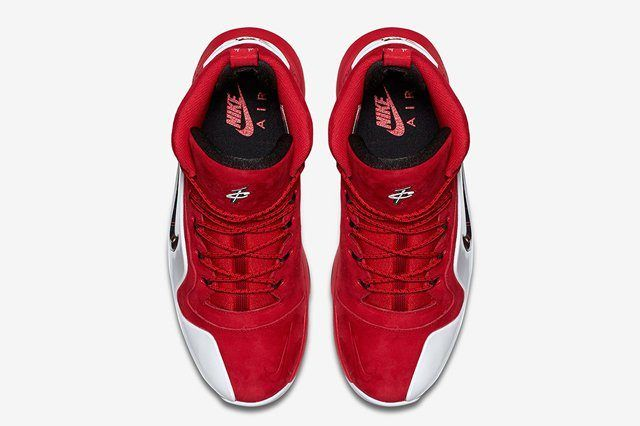 Nike Air Penny 6 Red Suede 1