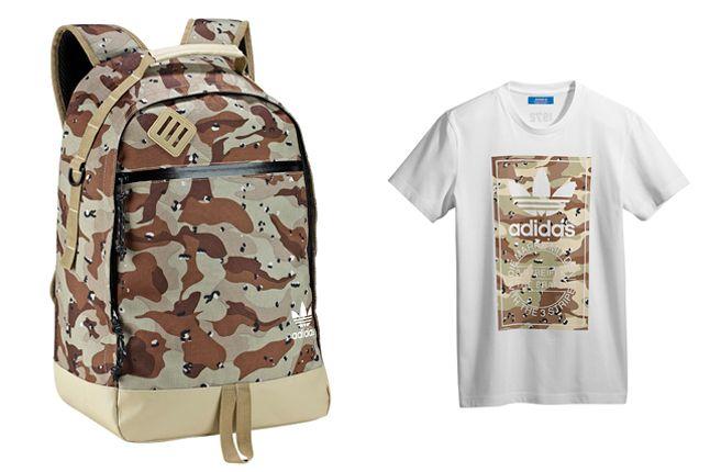 Adidas Originals Camo Backpack Tee 1