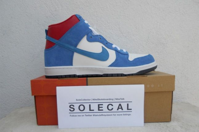 Nike Dunk Red Blue White 1 1