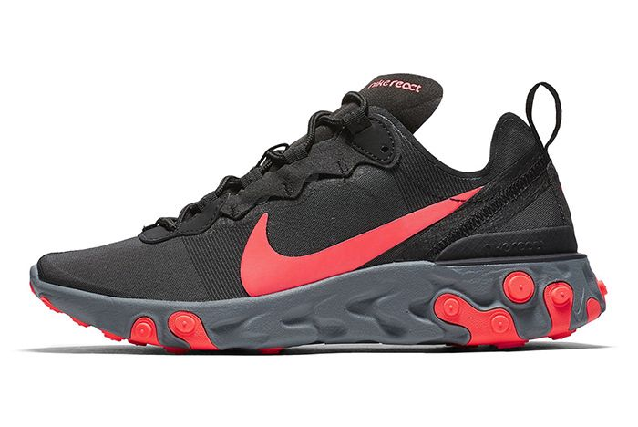 Nike React Element 55 Volt Solar Red 6